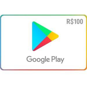 Gift Card Digital Google Play R$ 100 + Bônus de R$ 400 em itens do Clash of Clans