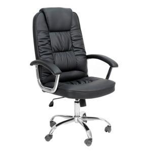 Cadeira de Escritório Presidente Finland Preta - R$290