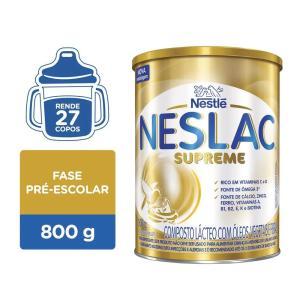Composto Lácteo Neslac Supreme 800g  Neslac