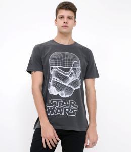 Camiseta com Estampa Star Wars  Blue Steel - R$14
