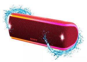 Caixa de som sem fios SRS-XB31, com Extra Bass, Iluminação multicolorida, efeitos sonoros, com design a prova d'água e poeira | R$450