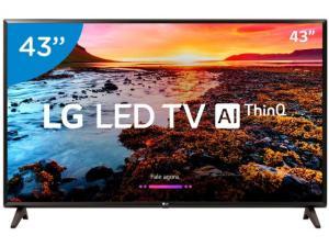"Smart TV LED 43"" LG Full HD 43LK5750 - WebOs Conversor Digital Wi-Fi 2 HDMI 1 USB"