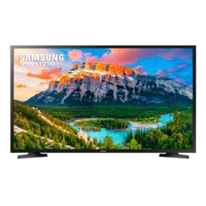 "Smart TV LED HD Flat 32"" Samsung, Wi-Fi, Dolby Digital. (A vista ou 1x CC)"