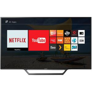"""Smart TV LED 40"""" Sony KDL-40W655D Full HD com Conversor Digital 2 HDMI 2 USB Wi-Fi Foto Sharing Plus Miracast Preta - R$1313"""