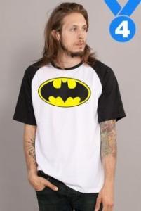 Camiseta Masculina Batman Clássico - R$40