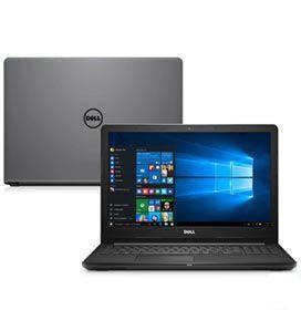 Notebook Dell, Intel Core i5-8250U, 8GB, 2TB, Tela 15,6, AMD Radeon 520, Inspiron 15 Série 3000 - i15-3576-A61C
