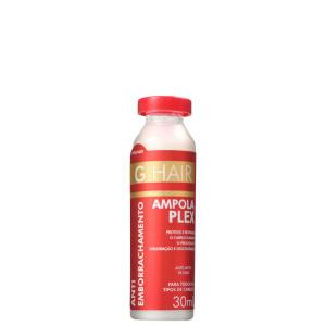 G.Hair Antiemborrachamento Plex - Ampola Capilar 30ml | R$3