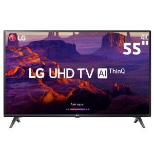 "Smart TV LED 55"" Ultra HD 4K LG 55UK6360PSF com IPS, IHDR 10 Pro, HDMI e USB - R$ 2646"