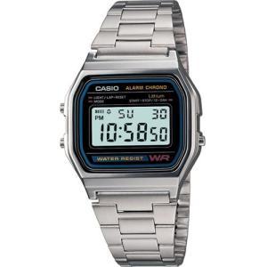 Relógio Unissex Digital Casio A158WA-1DF - Prata R$100