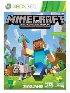 Minecraft Xbox 360 mídia física