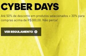 CYBER MONDAYS - 50% DE DESCONTO + 30% PARA COMPRAS ACIMA DE R$ 300,00. NÃO PERCAM !!!