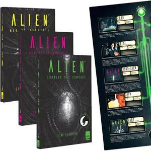 Livro - Trilogia Alien + Pôster, por James A. Moore - R$15 (R$12 pagando com AME)