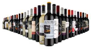 [Primeira compra] Kit de vinhos TOP 30 por 498 (30 Garrafas) na Vinho Fácil - R$398