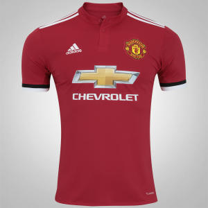Camisa Manchester United I 17/18 adidas - Masculina - R$130