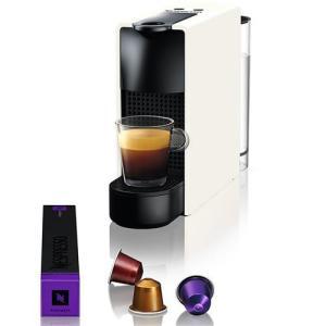 Máquina de Café Nespresso Essenza Mini C30 com Kit Boas Vindas - Branca  - R$111