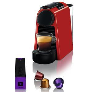 Máquina de Café Nespresso Essenza Mini D30 com Kit Boas Vindas - Vermelha - R$154