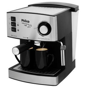 Cafeteira Expresso Philco Coffee Express - Inox - 15 Bar - R$179