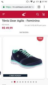 Tênis Oxer Agile – Feminino