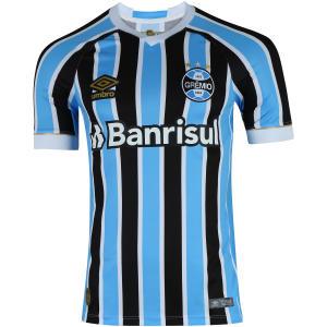 Camisa do Grêmio I 2018 Umbro com Patrocínio - Masculina | R$180