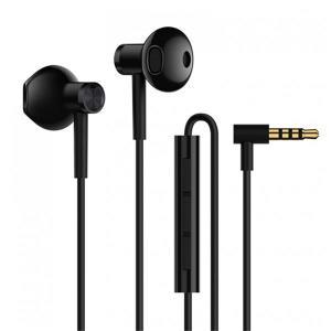Original Xiaomi Dynamic Driver+Ceramics Driver Shallow In-ear Wired Earphone Headphone With Mic - Black por R$ 80