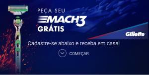Amostra grátis de Gillette Mach 3
