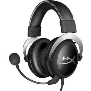 Headset Gamer HyperX Cloud Silver | R$350