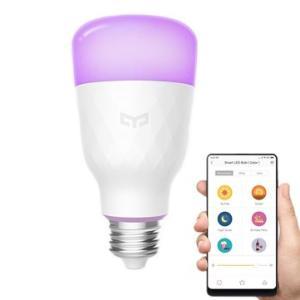 Lâmpada Inteligente LED Wifi App Controle Bivolt - Xiaomi Yeelight YLDP06YL E26 E27 10 W RGBW | R$63