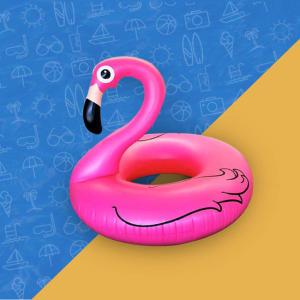 Ganhe uma Bóia de Flamingo, Donuts, ou porta-copos