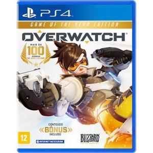 Game Overwatch - PS4 - R$45 (R$23 pagando com AME)