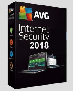AVG Internet Security 2018 (Licença 1 ANO)