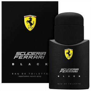 Perfume  Ferrari Black Masculino Eau De Toilette 125ml por R$ 86