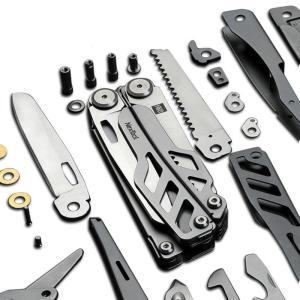 Multi-função Faca 15 Funções Folding Knife Bottle Opener Chave De Fenda / Alicate por R$ 160