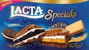 [APP Americanas] Chocolate Lacta Specials Oreo ou Chocobiscuit 325g   R$17