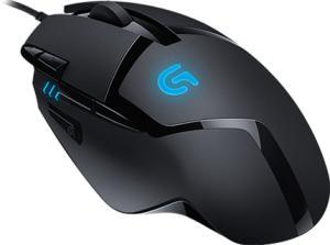 Mouse Gamer Logitech G402 Hyperion Fury Fps Preto 4.000 Dpi