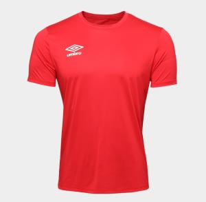 Camisa Umbro TWR Basic Masculina - Vermelho R$35