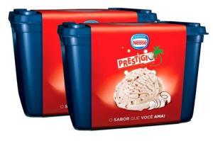 [Rappi] 2 potes de Sorvete Nestle Prestígio 1,5 L no Pão de Açúcar R$14