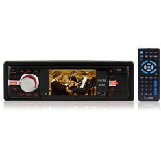 DVD Player Automotivo Ícone DV1307 Tela 3''- Rádio AM/FM, Entradas USB, SD, AUX e p/câmera de ré | R$199
