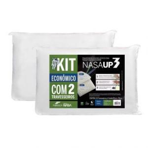Kit Promocional 2 Travesseiros Nasa Up 3 50x70