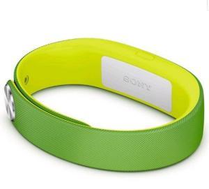 Pulseira Smartband Sony Original - Swr10 P/G - Verde/Amarela