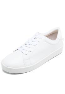 Tênis Via Uno Cadarço - Branco | R$75