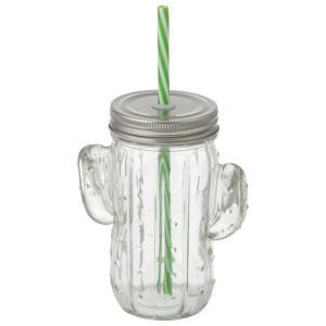 Cactus Style Copo C/ Canudo 400 Ml | R$11
