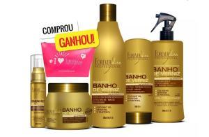Kit Banho de Verniz Completo Forever Liss R$110