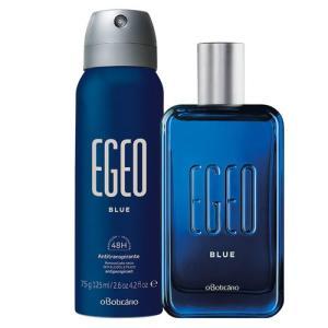 Combo Egeo Blue Boticário: Deo. Colônia + Antitranspirante Aerosol - R$ 104