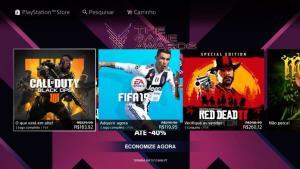 Promoção The Game Awards na PSN