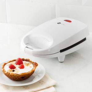 [1ª Compra] Máquina De Waffle Fun Kithcen Branca 220V Com 2 Anos De Garantia - R$5