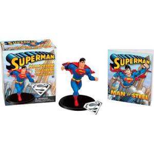 Livro - Superman: Collectible Figurine and Pendant Kit | R$13