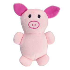 Brinquedos para Pet - Pelúcia Cute Animals P - Porco | R$19