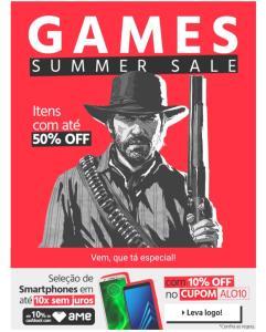 [10%OFF] em Games e Smartphones no Submarino!