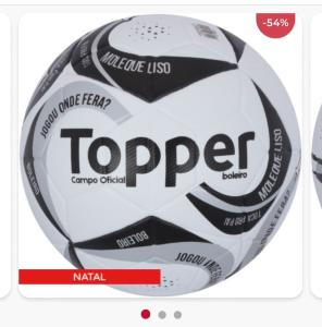 Bola de Futebol de Campo Topper Boleiro