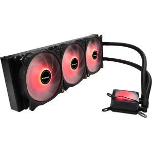 Water Cooler Mymax Algor 360mm AMD e Intel LED Vermelho - R$199
